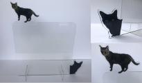 猫パーテーション